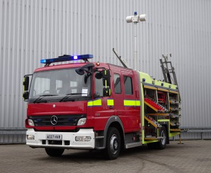 Mercedes-Benz Atego 1325 RHD - Crewcab, Doppelcabine - 1.400 ltr watertank - Feuerwehr, Fire brigade, More in Stock!! TT 4138