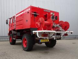 Renault M180 Midliner 4x4 Doppelcabine - 3.600 ltr watertank - Feuerwehr, Fire brigade, Expeditie, Camper TT 4145