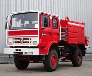 Renault M180 Midliner 4x4 - 3.600 ltr watertank - feuerwehr - fire brigade - brandweer  - Expeditie - Camper TT 4146