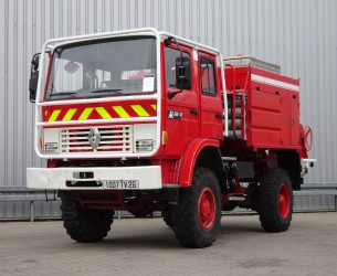 Renault M180 Midliner 4x4 Doppelcabine - 4.400 ltr watertank - Feuerwehr, Fire brigade, Expeditie, Camper TT 4148