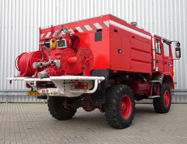 Renault M180 Midliner 4x4 Feuerwehr, Fire brigade -4.400 ltr watertank -Doppelcabine , Expeditie, Camper TT 4148