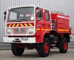 Renault M180 Midliner 4x4 Doppelcabine - 4.400 ltr watertank - Feuerwehr, Fire brigade, Expeditie, Camper TT 4151