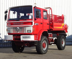 Renault M150 Midliner 4x4 - 2.000 ltr watertank - feuerwehr - fire brigade - brandweer - Lier, Winch, Winde - Expeditie - Camper TT 4154
