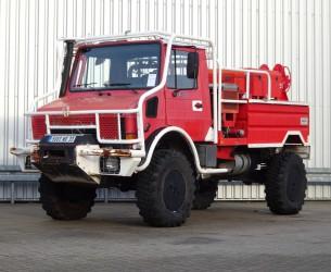 Mercedes-Benz Unimog 1550L37 4x4 Unimog U1550 L (437) Mercedes Benz,  SIDES CCF2000 ltr. - Expeditievoertuig, Camper TT 4085A