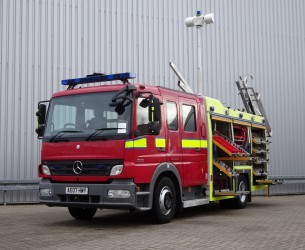 Mercedes-Benz Atego 1325 RHD - Crewcab, Doppelcabine - 1.400 ltr watertank - Feuerwehr, Fire brigade, More in Stock!! TT 4163
