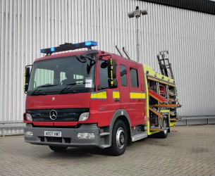 Mercedes-Benz Atego 1325 RHD - Crewcab, Doppelcabine - 1.400 ltr watertank - Feuerwehr, Fire brigade, More in Stock TT 4164