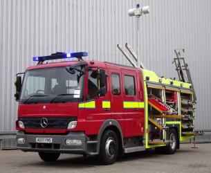 Mercedes-Benz Atego 1325 RHD - Crewcab, Doppelcabine - 1.400 ltr watertank - Feuerwehr, Fire brigade, More in Stock!! TT 4166