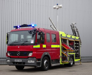 Mercedes-Benz Atego 1325 RHD - Crewcab, Doppelcabine - 1.400 ltr watertank - Feuerwehr, Fire brigade, More in Stock!! TT 4167