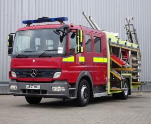 Mercedes-Benz Atego 1325 RHD - Crewcab, Doppelcabine - 1.400 ltr watertank - Feuerwehr, Fire brigade, More in Stock!! TT 4168
