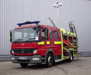 Mercedes-Benz Atego 1325 RHD - Crewcab, Doppelcabine - 1.400 ltr watertank - Feuerwehr, Fire brigade, More in Stock!! TT 4170
