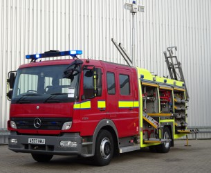 Mercedes-Benz Atego 1325 RHD - Crewcab, Doppelcabine - 1.400 ltr watertank - Feuerwehr, Fire brigade, More in Stock!! TT 4171