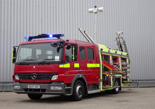 Mercedes-Benz Atego 1325 RHD - Crewcab, Doppelcabine - 1.400 ltr watertank - Feuerwehr, Fire brigade, More in Stock!! TT 4172