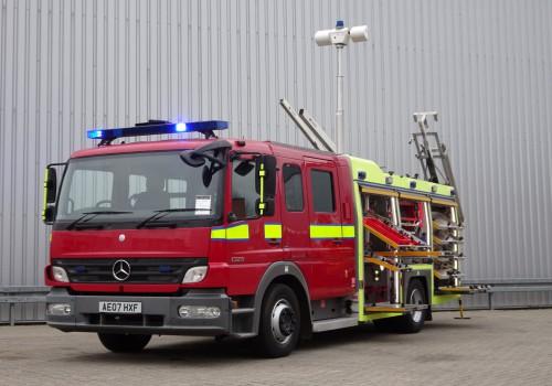 Mercedes-Benz Atego 1325 RHD - Crewcab, Doppelcabine - 1.700 ltr watertank - Feuerwehr, Fire brigade, More in Stock!! TT 4172