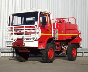 Renault 110-170 4x4 - 2.500 ltr watertank - 5t. Lier, Wich, Winde - Feuerwehr, Fire brigade, Expeditie, Camper TT 4182