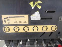 DAF FAN CF85.360 6x2, ADR! HMF 15TM Kraan, Crane, Kran, Grue -Retarder, Manuel, Gearbox mailfunction TT 4185