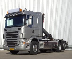 Scania G 440 6x2 -26t.  Haakarm, Hooklift, Abrolkipper - Stuuras, Steeringaxle, Lenkachse - NL Truck!! TT 4189