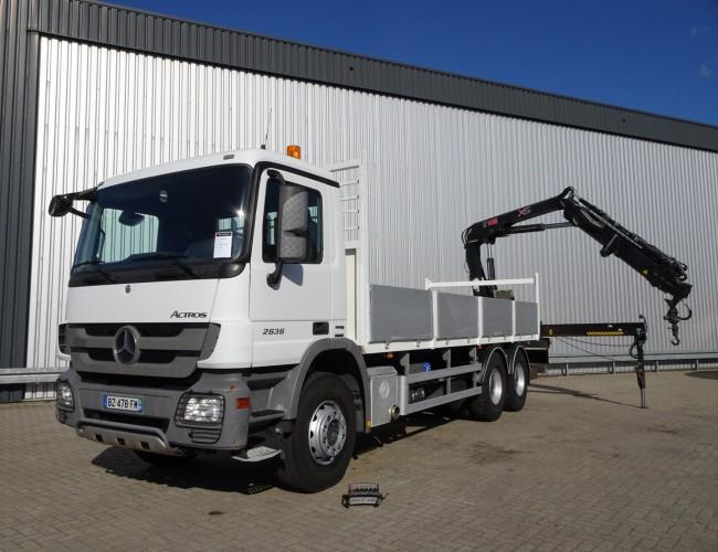 Mercedes-Benz Actros 2636 6x4 - Hiab 16TM Kraan, Crane, Kran, Grue - Euro 5 TT 4195