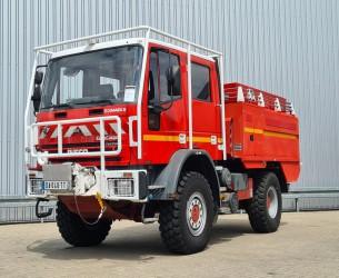 Iveco Eurocargo Tector 140 E24 4X4 4.000 Ltr. Rosenbauer, feuerwehr - fire brigade - brandweer, Pomp. TT 4198