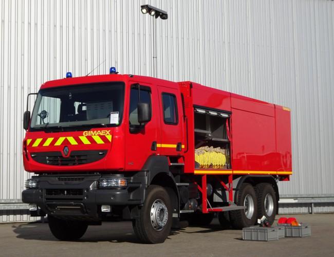 Renault 6x4 Kerax 380.32 DXI