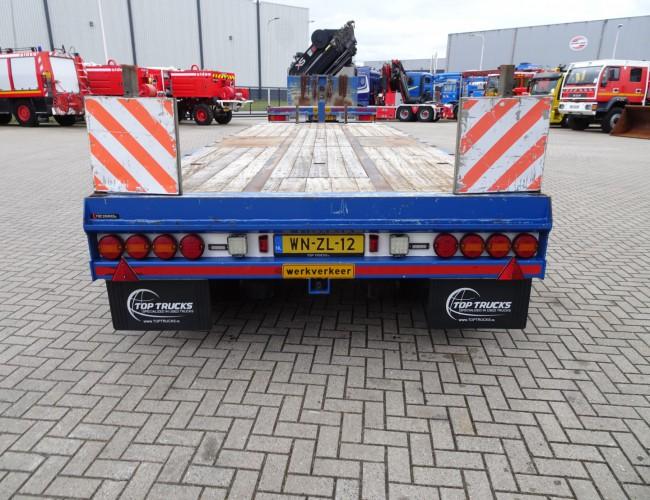 GBS SA 28 3 Assen, Achs, Axle - Plattform, Liftachse,  Plato, Anhänger 7.05-9.05 mtr. TT 4202