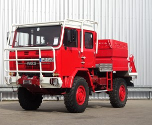 Iveco Unic 80.160 4x4 -Feuerwehr, Fire brigade -1.750 ltr watertank - 3,5t. Lier, Wich, Winde -, Expeditie, Camper TT 4205