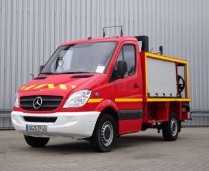 Mercedes-Benz Sprinter 309 CDI feuerwehr - fire brigade - brandweer - 400ltr. water tank TT 4210