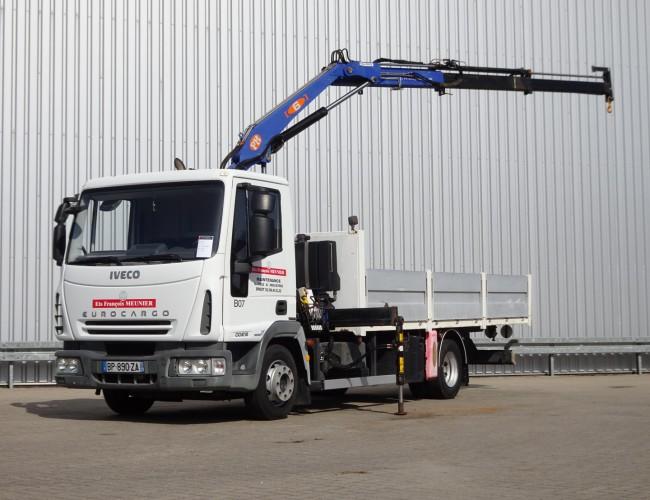 Iveco EUROCARGO 100E18 6TM Kraan, Crane, Kran, Grue TT 4214