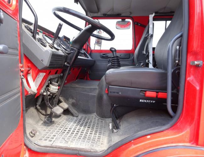 Renault M180 Midliner 4x4 -Feuerwehr, Fire brigade -4.000 ltr watertank - Expeditie, Camper TT 4219