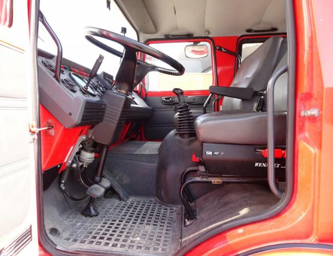 Renault M180 Midliner 4x4 -Feuerwehr, Fire brigade -4.000 ltr watertank - Expeditie, Camper TT 4220