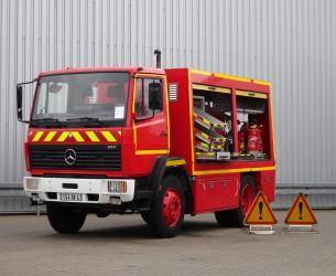 Mercedes-Benz 917 AF 4x4 feuerwehr - Low Gear! - fire brigade - brandweer - Rescue-Vehicle TT 4222