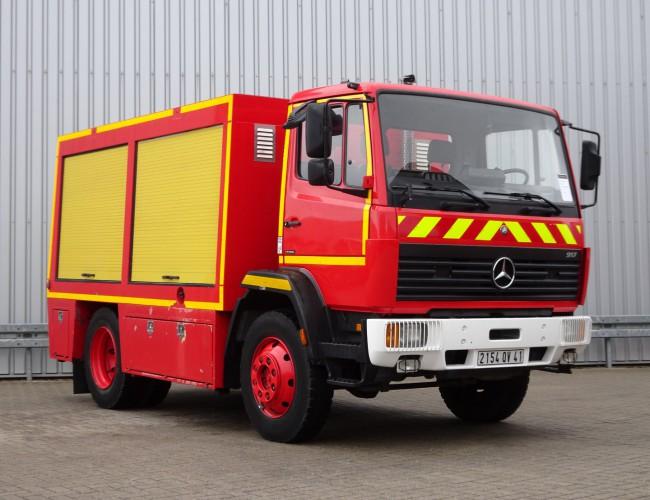 Mercedes-Benz 917 AF 4x4 feuerwehr - fire brigade - brandweer - Rescue-Vehicle TT 4222