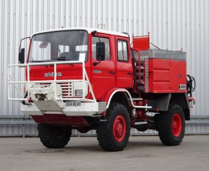 Renault 110-150 4x4 4x4 -Feuerwehr, Fire brigade -3.000 ltr watertank - 5t. Lier, Wich, Winde -, Expeditie, Camper TT 4223
