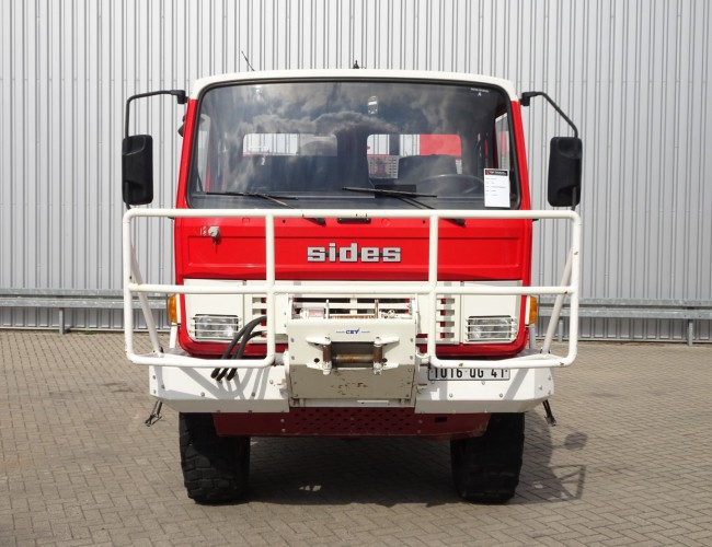 Renault 110-150 4x4 4x4 -Feuerwehr, Fire brigade -3.000 ltr watertank - 5t. Lier, Wich, Winde -, Expeditie, Camper TT 4223