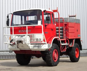 Renault 110-150 4x4 -Feuerwehr, Fire brigade -3.000 ltr watertank - 5t. Lier, Wich, Winde -, Expeditie, Camper TT 4225