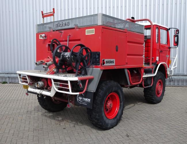 Renault 110-150 4x4 -Feuerwehr, Fire brigade -3.000 ltr watertank - 5t. Lier, Wich, Winde -, Expeditie, Camper TT 4225