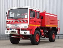 Renault Midliner M210 4x4 -Feuerwehr, Fire brigade -4.400 ltr watertank - Expeditie, Camper - 5,4 t. Lier, Winch TT 4227