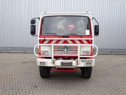 Renault Midliner M210 4x4 -Feuerwehr, Fire brigade -3.250 ltr watertank - Expeditie, Camper - 5,4t. Lier, Wich, Winde TT 4228