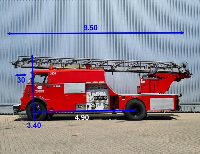 DAF A 1900 DS 490 Oldtimer, Museum - Kronenburg Brandweer, fire, feuerwehr - Ladderwagen TT 4231