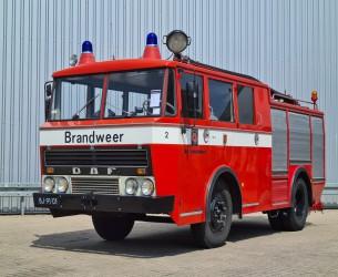 DAF G 1600 DF 325 Oldtimer, Museum - Kronenburg Brandweer, fire, feuerwehr - 1.200 ltr. Watertank TT 4233