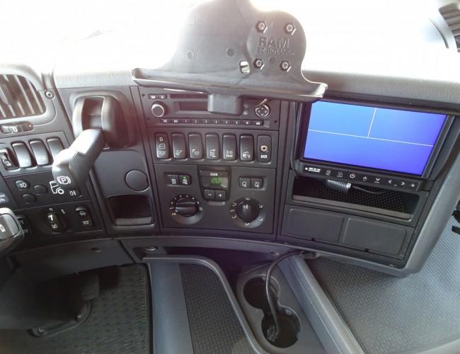 Scania G450 6x2 Hiab 42TM Kraan, Crane, Kran - Stuuras, Steeringaxle, Lenkachse - Euro 6 TT 4234