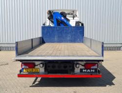 MAN TGL 12.180 HMF 7TM Kraan, Crane, Kran, Grue TT 4246