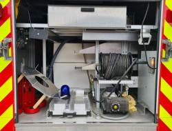 Iveco Eurocargo 80E18 Calamiteitenauto - Rescue-Vehicle - 27 KVA, Electricity generator, Elektrizitat Generator TT 4249