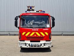 Iveco Eurocargo 80E18 Calamiteitenauto - Rescue-Vehicle - 27 KVA, Electricity generator, Elektrizitat Generator TT 4250