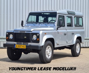 Land Rover Defender 110 4x4 -2.5 TD -120 PK - Youngtimer -Trekhaak - Lage km stand! - Nieuwe APK TT 4252