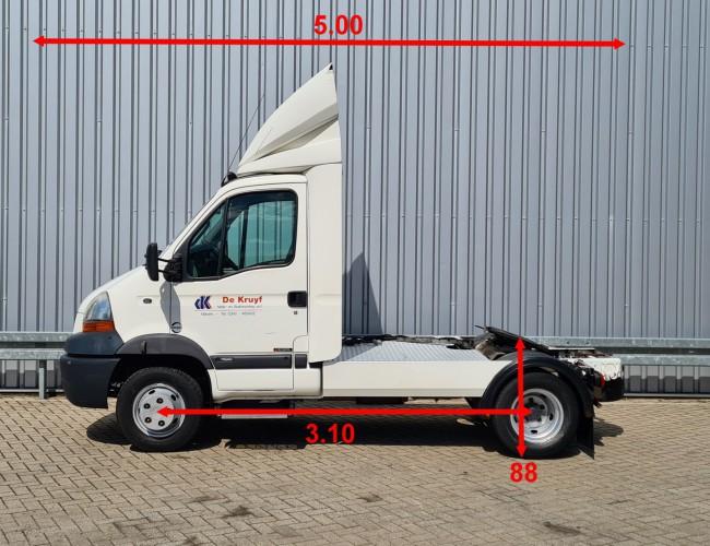 Renault Master Pro 160-65 DCI BE trekker - Single cabin, Manuel, Navigatie TT 4258