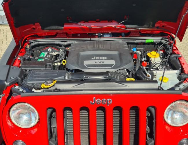 Jeep Wrangler 4x4 - 3.6 - V6 - JK Rubicon - Lang - Heavy  duty vooras TT 4259