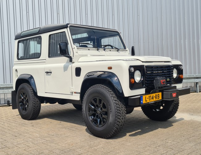 Land Rover Defender 90 4x4 - 2.2 Diesel - TD 5 Lier, Winch- Youngtimer -Lage KM stand, Low KM!! TT 4265
