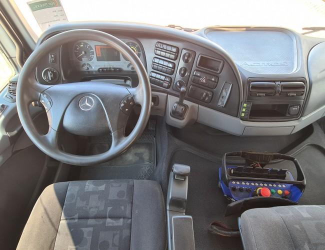 Mercedes-Benz Actros 2632 6x4 - MP 3 - HMF 15TM Kraan, Crane, Kran, Grue - Kipper, Tipper, Benne - 3 peddal TT 4266