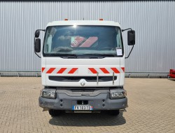 Renault Kerax 320 DCI 26 6x4 - HMF 18TM Kraan, Crane, Kran, Grue - Kipper, Tipper, Benne TT 4269