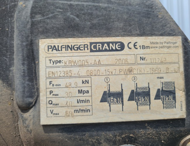 Iveco Eurocargo 140 E25 4x4 - Palfinger 6TM Kraan, Crane, Kran, Grue - Lier, Winch, Winde - Werkplaats, Workshop, Werkplatz TT 4283